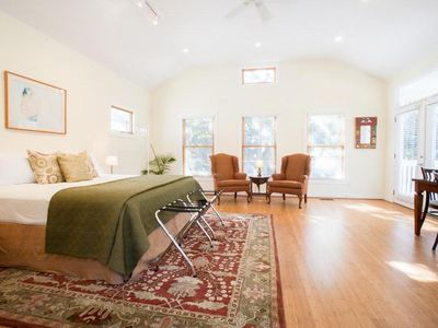 Photo for South Central - Two-story Treetop Guesthouse - 30 Day Minimum