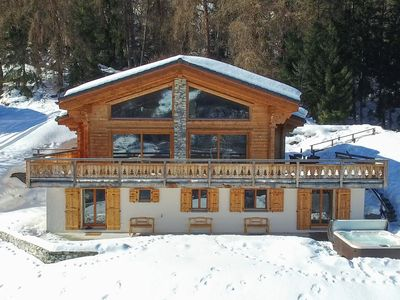 Photo for Chalet Charbray - sleeps 10 in fabulous luxury with spa - the ultimate getaway