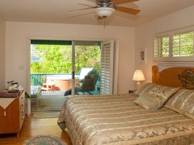 Photo for Cloud 9 Relaxation Home, Beautiful mountain views, Quiet, Hot tub, Easy Home