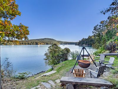 Photo for NEWLY LISTED! Waterfront Home! Beach Access! Near Roche Harbor!