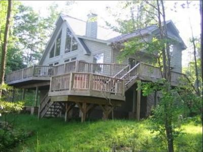Photo for Woodland Pond - Beautiful Lakefront Home! Lake Privileges! Air Conditioning!