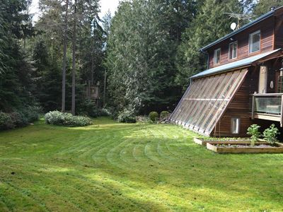 Photo for Sunny Cottage in Port Townsend Wood. Min. to Town & Beaches. Private  Acreage.