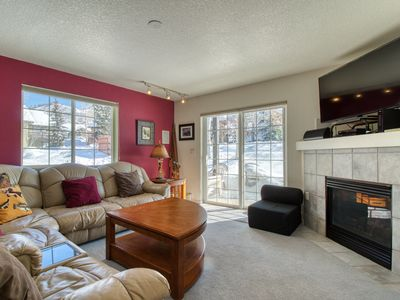Photo for Mountain retreat w/ shared hot tub & playground- close slopes & bus stop!