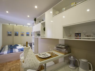 Photo for Lux Life is luxurious newly-refurbished studio apartment in a new building