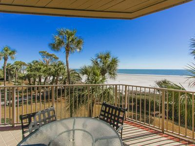 Photo for STUNNING Oceanfront Turtle Lane Villa in Sea Pines with Multiple Pools!