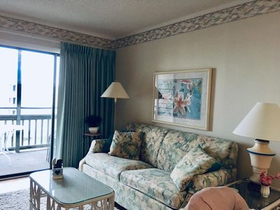 Photo for SKYLIGHT BRIGHT!!  Great view!  Steps from the Beach!  Sleeps 6-8. Free WiFi!