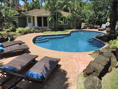 Photo for Newly Remodeled! Premier Destination in Poipu! With a pool! Beach Bungalow