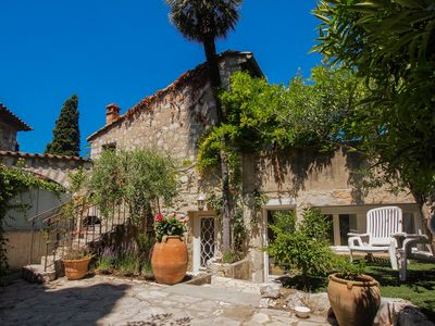 Photo for Charming villa with garden next to Nice - French Riviera 100m2 (Cagnes sur mer)