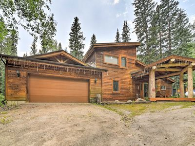 Photo for Mountain Cabin w/ Deck & Backyard on Mill Creek!