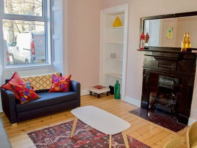 Photo for Colourful 1 Bedroom Flat off Leith Walk