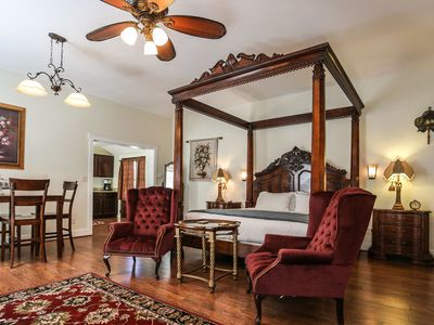 Photo for Absolutely Charming Suite Alli, King Bed, Whirlpool Tub, Hot Tub/Pool Access!
