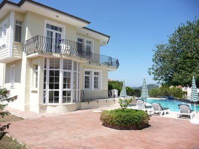 Photo for Large Detached Villa With Private Pool Set In Beautiful Gardens and Internet