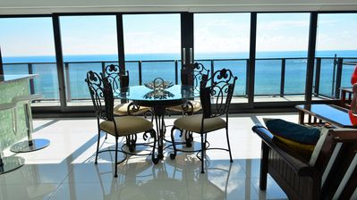 Photo for Direct Oceanfront Luxury 2 Bedroom PANORAMIC VIEWS - 1101