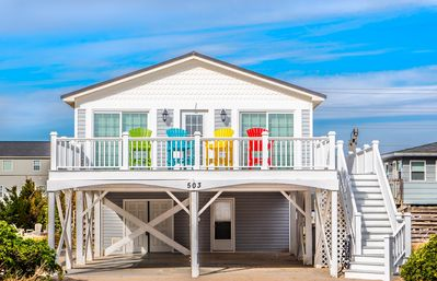 Photo for 3BR House Vacation Rental in North Topsail Beach, North Carolina