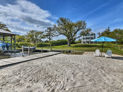 Photo for NEW! Waterfront Pass Christian Home w/ Pool & Dock