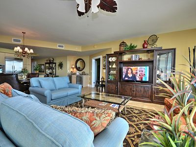 "Photo for Great View of the Gulf and Lazy River - 55"" Smart TV - 1PM Check in Option"