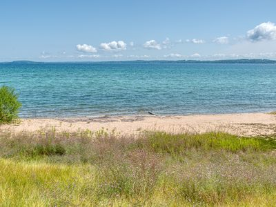 Photo for 100 feet of private sandy beach on West Bay within 3 miles of downtown TC