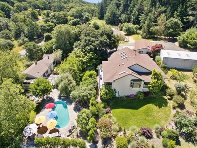 Photo for 8.5 Acre Private Estate, Pool, Hot tub, spectacular views & total privacy