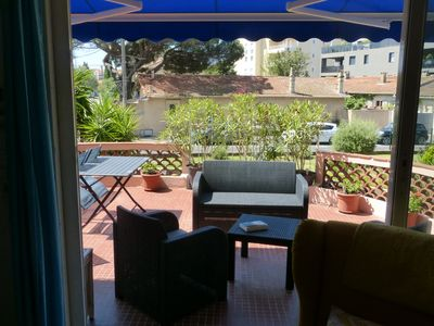 Photo for ST RAPHAEL town center on foot, south facing apartment with terrace 24 m2