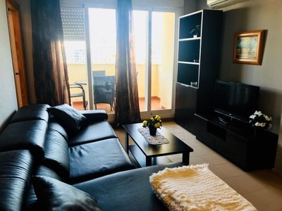 Photo for A826 - Great apartment with parking, air conditioning and pool