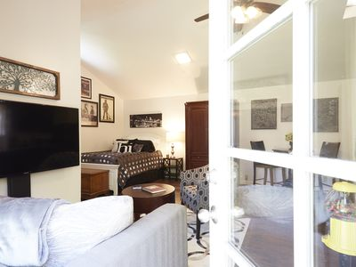 Photo for Private Willow Glen Studio Guesthouse