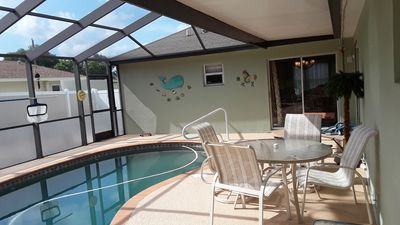 Photo for Beautiful 4 BR/2BA Private Pool Home Near Weeki Wachee Springs