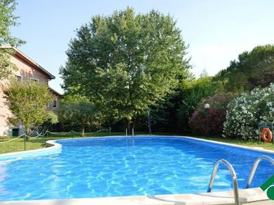 Photo for Apartment with pool in the center of Lazise