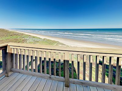 Balcony - Your beachfront home is professionally managed by TurnKey Vacation Rentals.