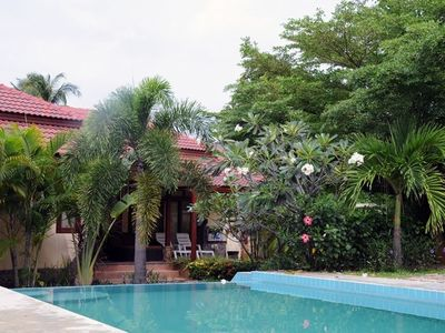 Photo for Koh Samui Thailand - Villa / House with pool and tropical garden