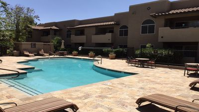 Photo for 1st Floor Poolside Condo in the Heart of Scottsdale Walking Distance. Free Wi-Fi