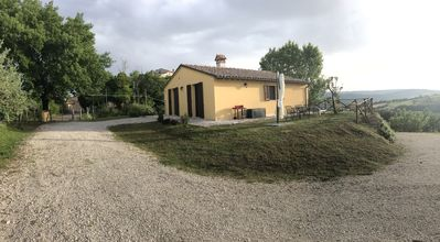 Photo for Todi, Umbria, Country House with 2500 sq m land and view over the valley.