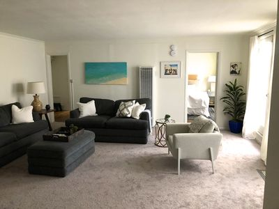 Photo for Private Large 1 bedroom apartment, sleeps 4, close to Santa Monica Beach & UCLA