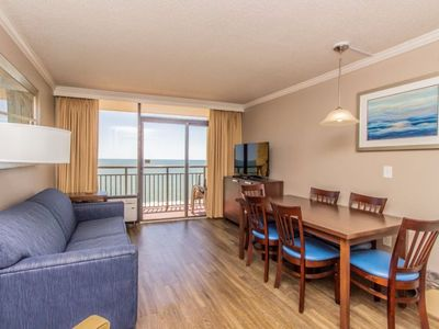 Photo for Oceanfront King One Bedroom Suite at The Caravelle Resort~Unit 1244
