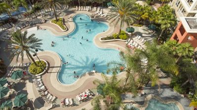 Photo for 1BR Getaway Suite w Heated Pools