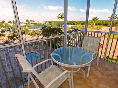 Photo for Overlooking Pool & Tennis Courts - Bonita Beach & Tennis 4303