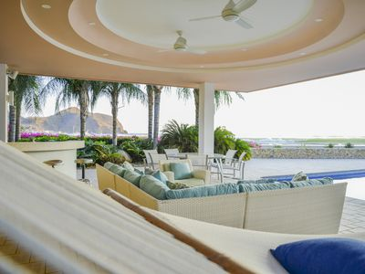 Photo for Beachfront* Luxury Home* 20,000 Square Feet* Ocean Front* Staff * Casa Serena