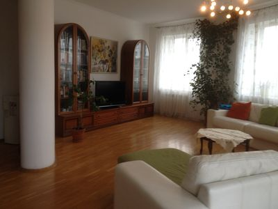 Photo for Lovely 2 level apartment (3 bedrooms) with underground parking /near park/ 3
