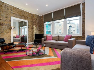 Photo for Located in central Soho, Contemporary Three Bed Apt., Sleeps 6 - (Veeve)