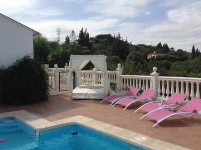 Photo for JULY 4 DAYS FM £50 PP!£100 OFF SEPT/OCT  VILLA WITH PRIVATE POOL/ MOUNTAIN VIEWS