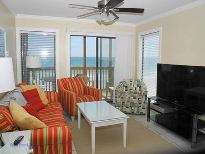 Photo for Tilghman Beach and Racquet Club Unit: 301! Oceanfront 3 Bedroom Condo. Book now for best rates!