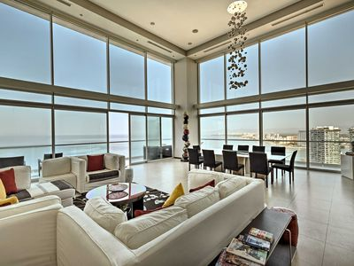Photo for Two-Story, Ultra-Luxury Penthouse with Jaw-Dropping Ocean Views