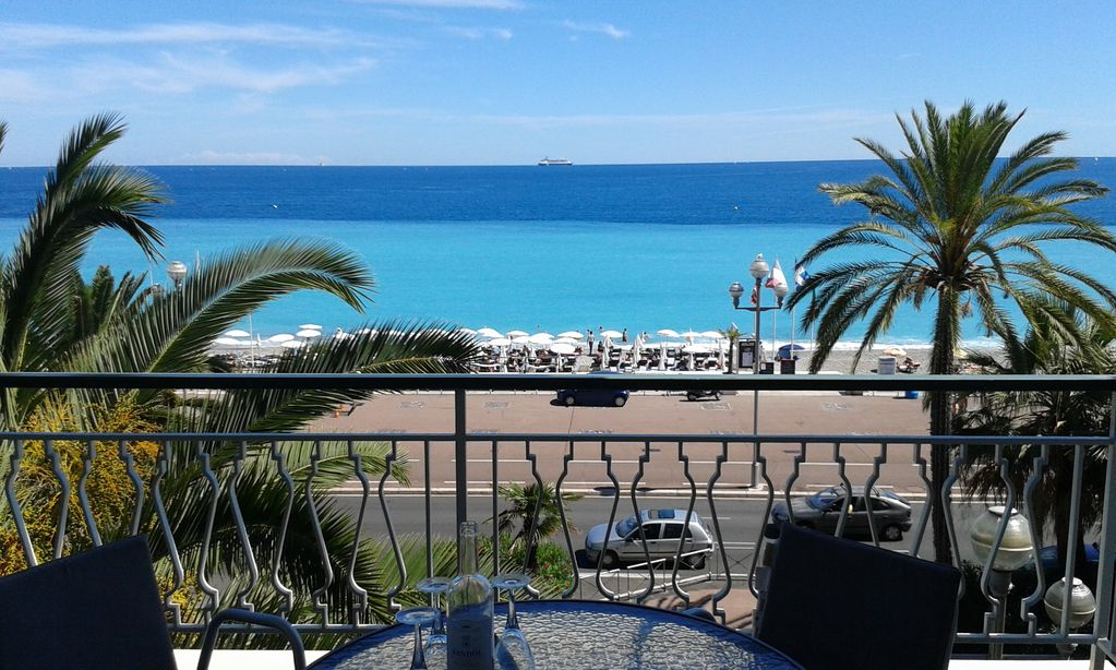 Promenade Des Anglais Nice Panoramic Sea View 2 Bed Lux City Apt With Balcony Les Baumettes