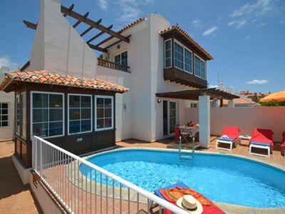 Photo for Villa with Private Heated Pool and Air Conditioning