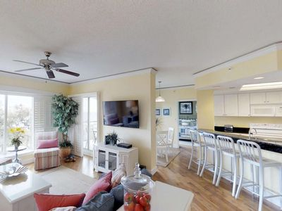Photo for Magnificent Ocean Front 4th Floor Views.  Amazing Beach Views - Clean, Comfortable & 2 Master Suites