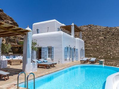 Photo for Mykonos house rental near Agrari beach