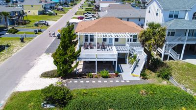 Photo for The Seascape - Ultra Clean Second Row Beach House with Ocean Views!