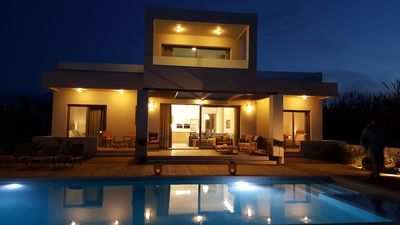 Photo for Sea Queen Villa - 100 metre from the beach..!!!  4Km from Chania center ..!!