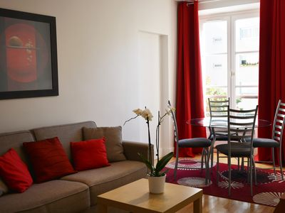 Photo for Charming apartment in the heart of Paris, 200 meters away from the Seine