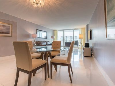 Photo for Downtown Miami 3342   Luxury 1BR Waterfront Condo   Free Valet Parking