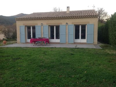 Photo for Detached villa, ground floor with pool and wifi, in character property